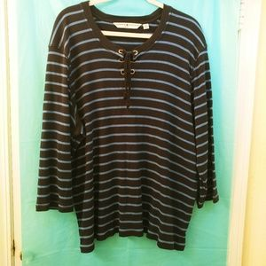 Tommy Hilfiger 3X lace up front Henley